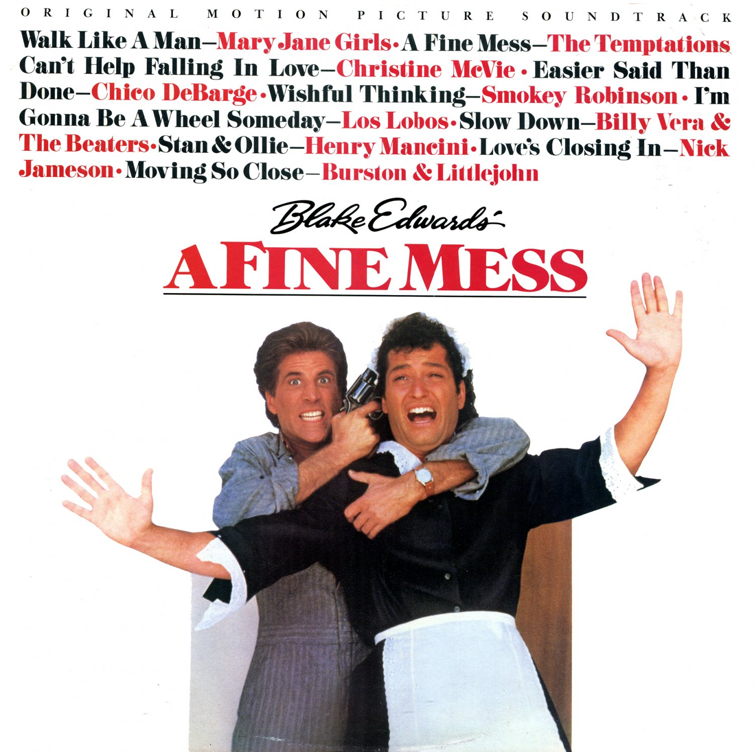 A Fine Mess - Original Soundtrack, Henry Mancini OST LP/CD