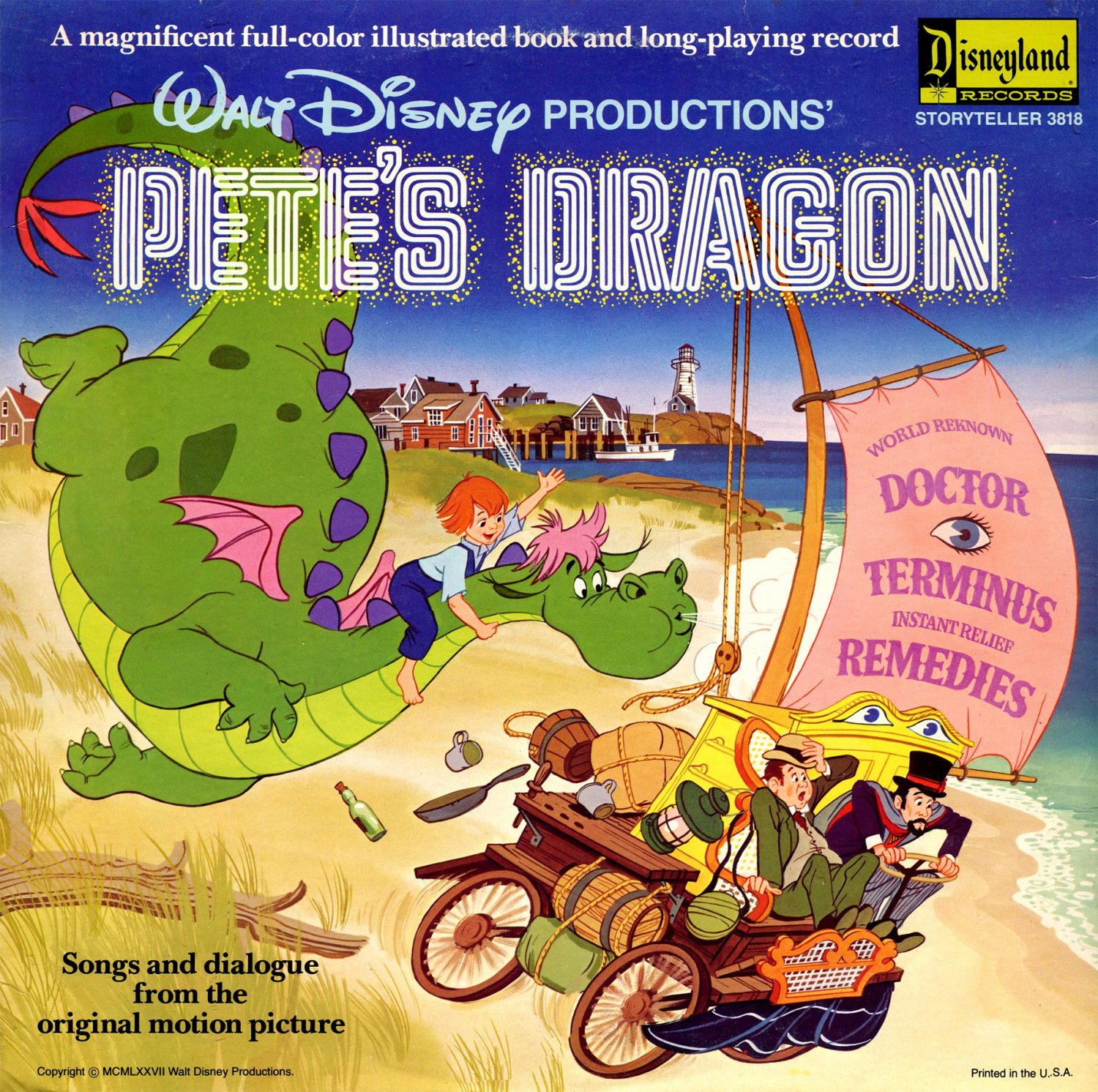 Walt Disney's Pete's Dragon - Story & Songs Soundtrack LP/CD