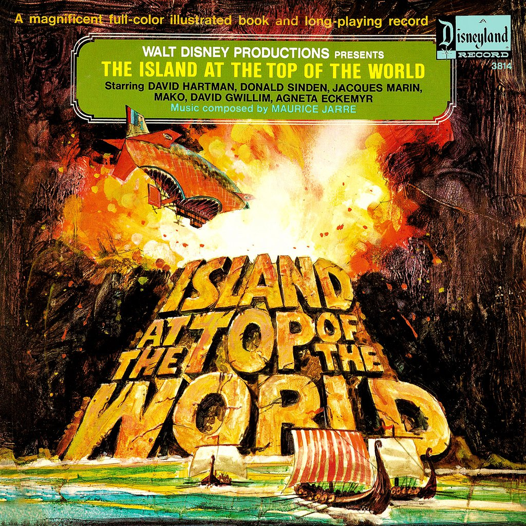 The Island At The Top Of The World - Walt Disney Storyteller Soundtrack, Maurice Jarre LP/CD