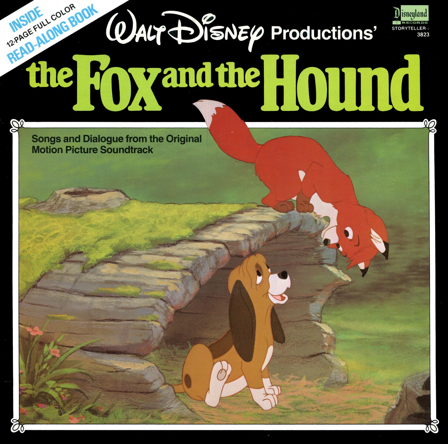 The Fox And The Hound Disney Soundtrack Amp Story Lp Cd