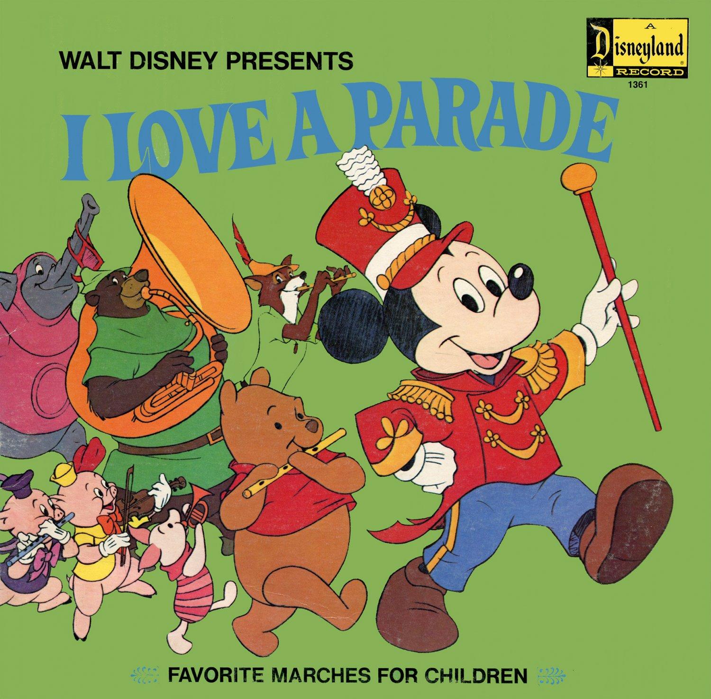 Walt Disney's I Love A Parade - Disney World & Disneyland Band Soundtrack LP/CD