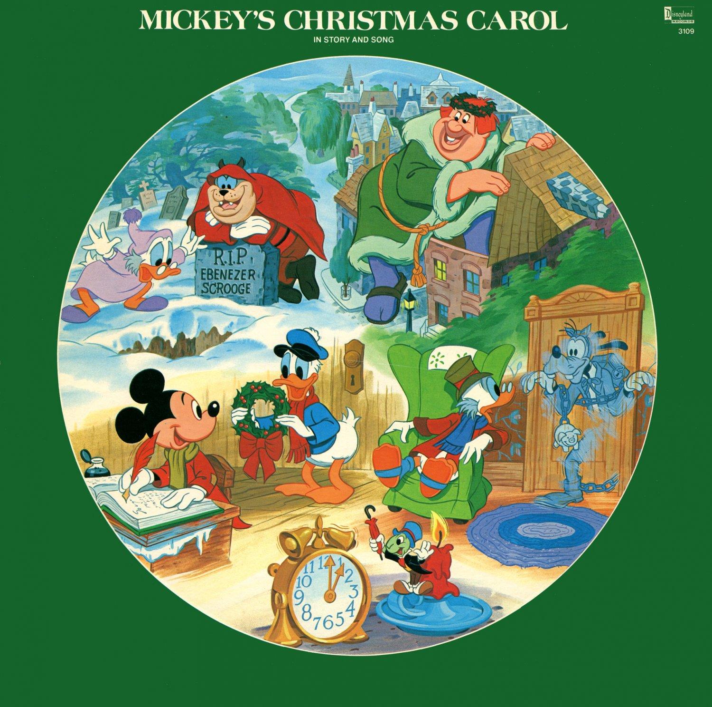 A Christmas Carol Soundtrack.Mickey S Christmas Carol 1982 Original Soundtrack Picture Disc