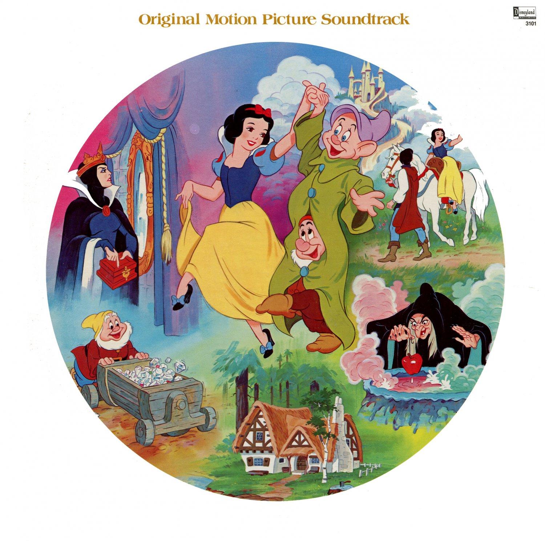 Snow White And The Seven Dwarfs - Original Disney Soundtrack, Picture Disc LP/CD