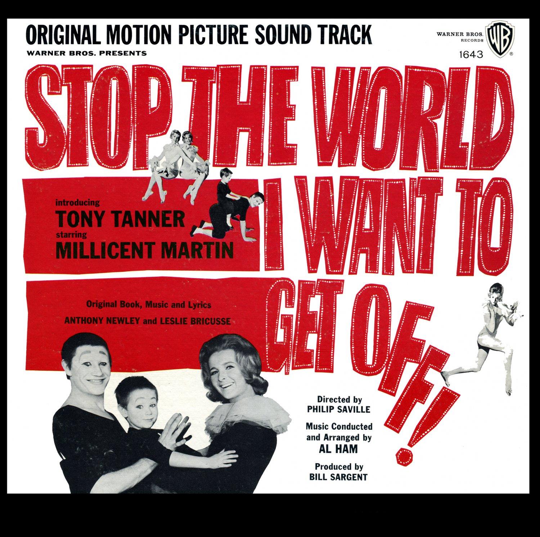 Stop The World, I Want To Get Off! - Original 1966 Film Soundtrack, Leslie Bricusse OST LP/CD