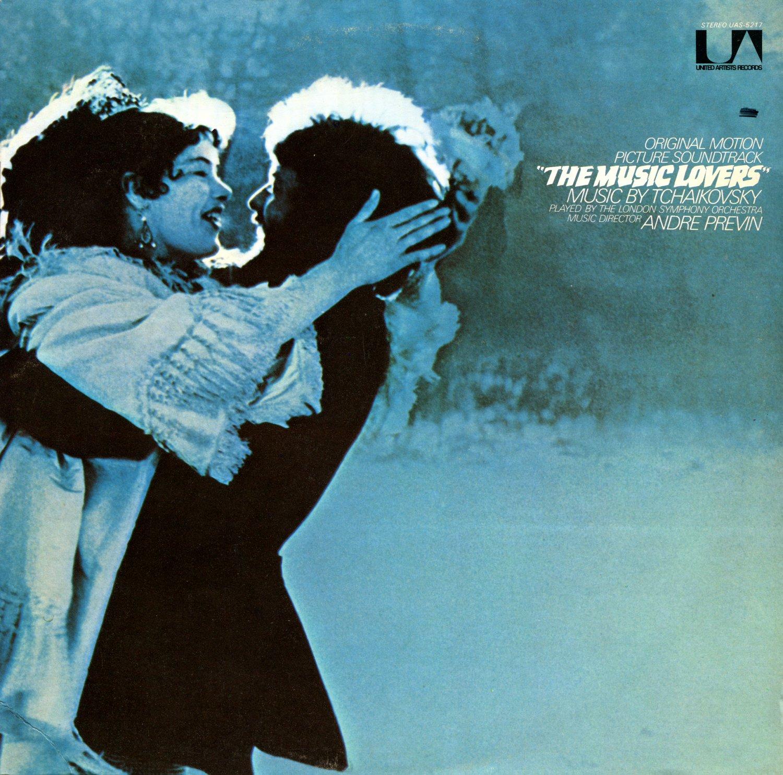 The Music Lovers - Original Soundtrack, Tchaikovsky/Andre Previn OST LP/CD