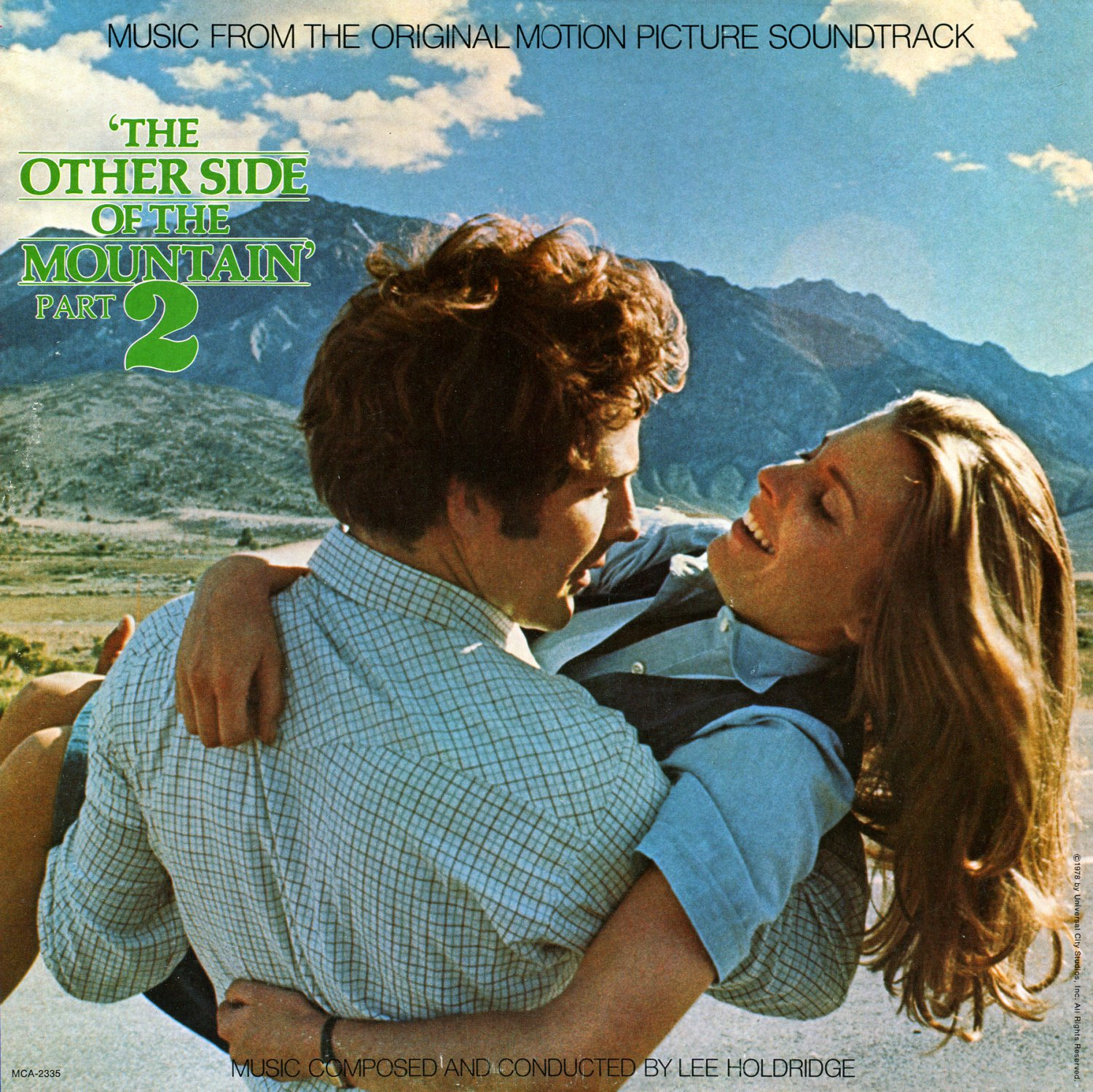 The Other Side Of The Mountain Part 2 - Original Soundtrack, Lee Holdridge OST LP/CD