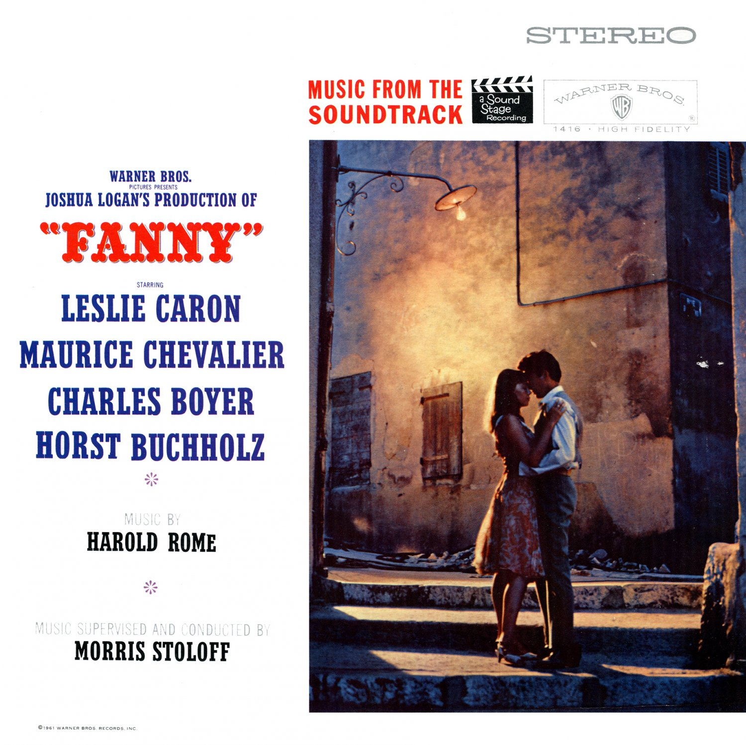 Fanny (1961) - Original Film Soundtrack, Leslie Caron & Maurice Chevalier OST LP/CD