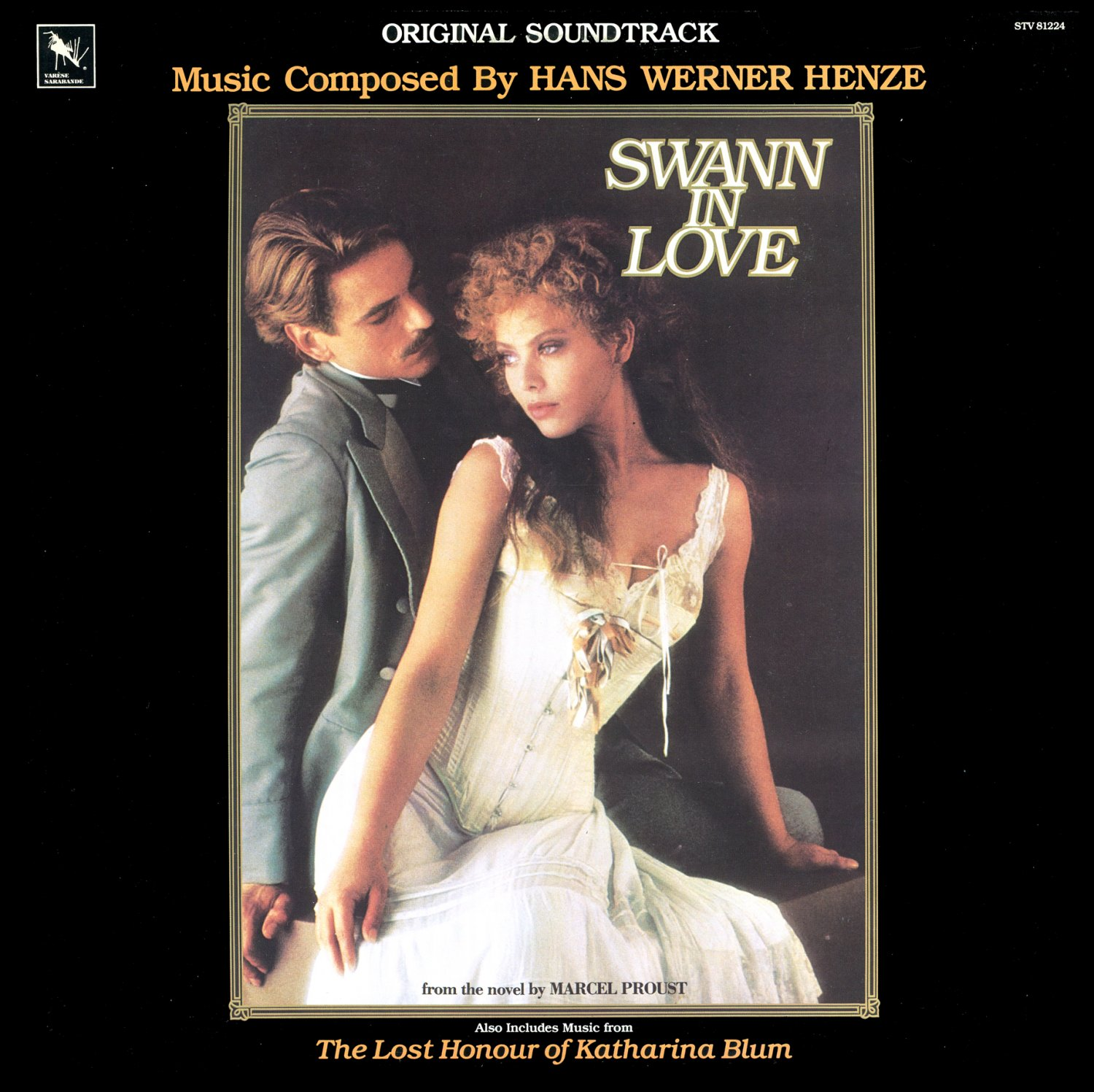 Swann In Love - Original Soundtrack, Hans Werner Henze OST LP/CD