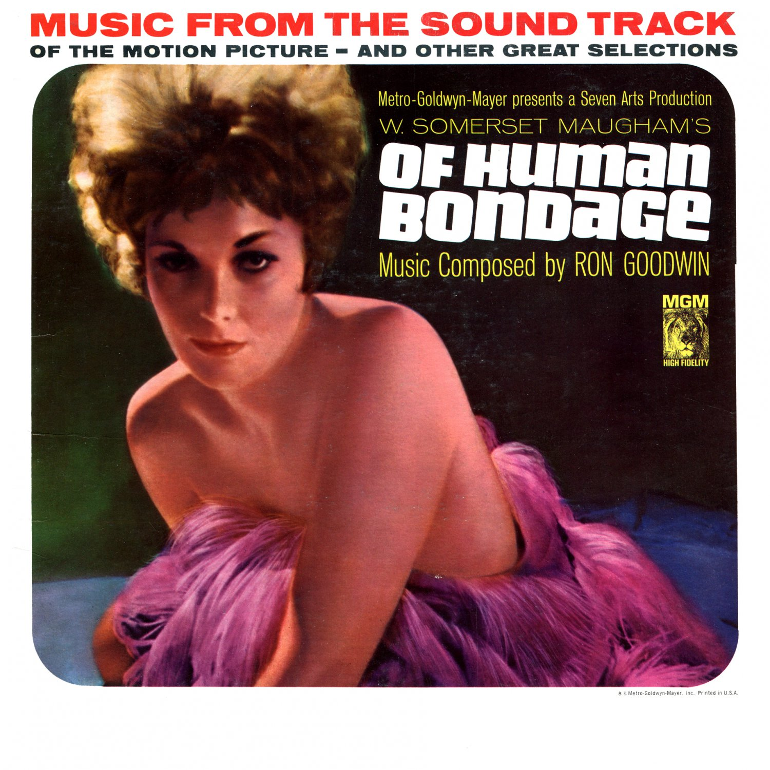 Of Human Bondage - Original Soundtrack, Ron Goodwin OST LP/CD