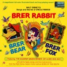 Walt Disney's Songs and Stories of Uncle Remus - Storyteller Soundtrack, Brer Rabbit LP/CD