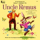 All The Songs from Walt Disney's Uncle Remus - Disneyland Soundtrack LP/CD