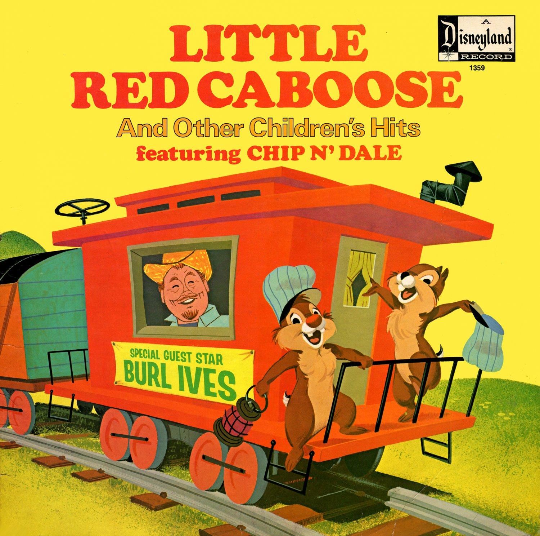 Little Red Caboose & Other Children's Hits - Disney Soundtrack, Burl Ives LP/CD