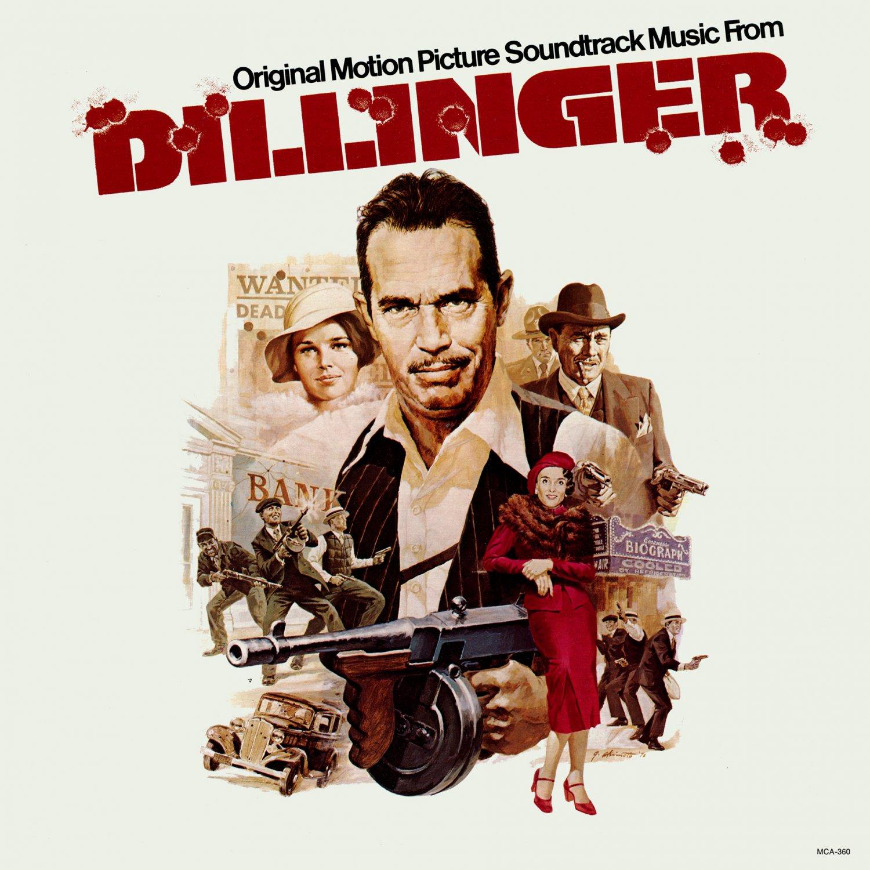 Dillinger (1973) - Original Soundtrack, Barry De Vorzon OST LP/CD