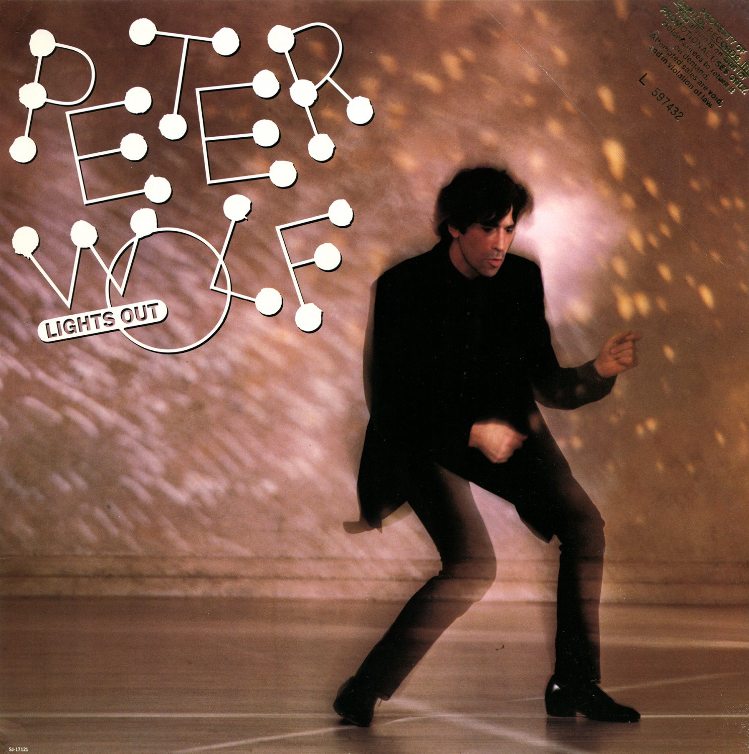 Peter Wolf Lights Out 1984 Lp Cd