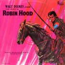 The Story Of Robin Hood - Walt Disney Soundtrack LP/CD