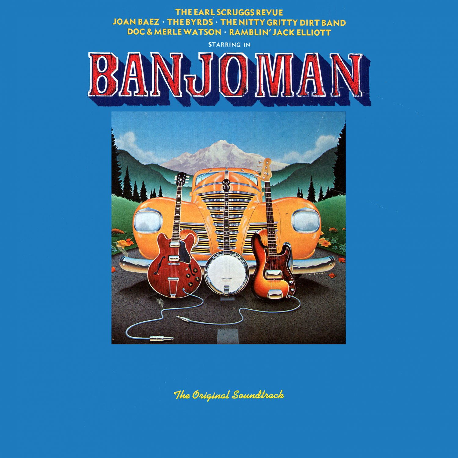 Banjoman - Original Soundtrack, The Earl Scruggs Revue OST LP/CD Banjo Man
