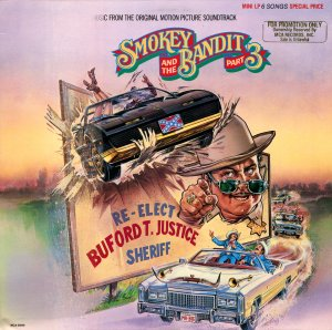 Smokey And The Bandit Part 3 - Original Soundtrack, Larry Cansler OST LP/CD III