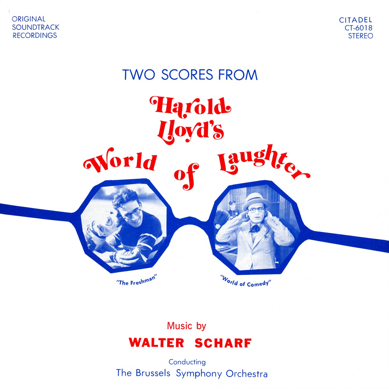 Harold Lloyd's World Of Laughter - Original Soundtrack, Walter Scharf OST LP/CD