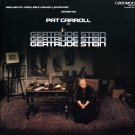 Gertrude Stein (1980) - Theater Production starring Pat Carroll, Two Disc Set LP/CD