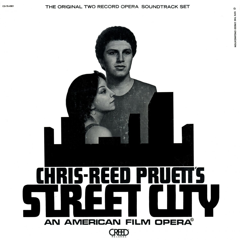 Street City (An American Film Opera) - Original Soundtrack, Chris-Reed Pruett OST LP/CD