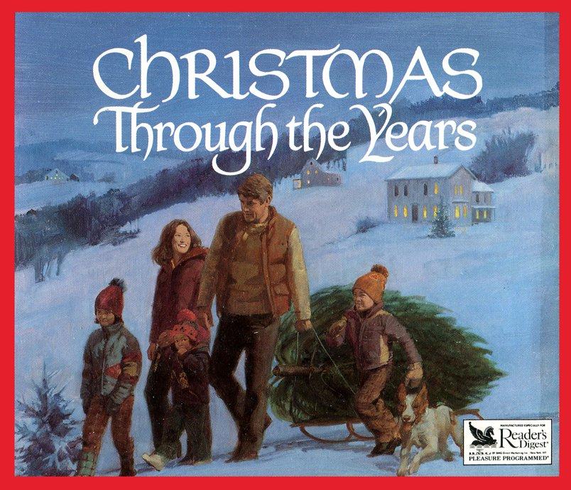 The Readers Digest Merry Christmas Songbook Hardcover Vintage 1981 Songs Music