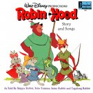 Walt Disney's Robin Hood - Story & Songs Soundtrack LP/CD