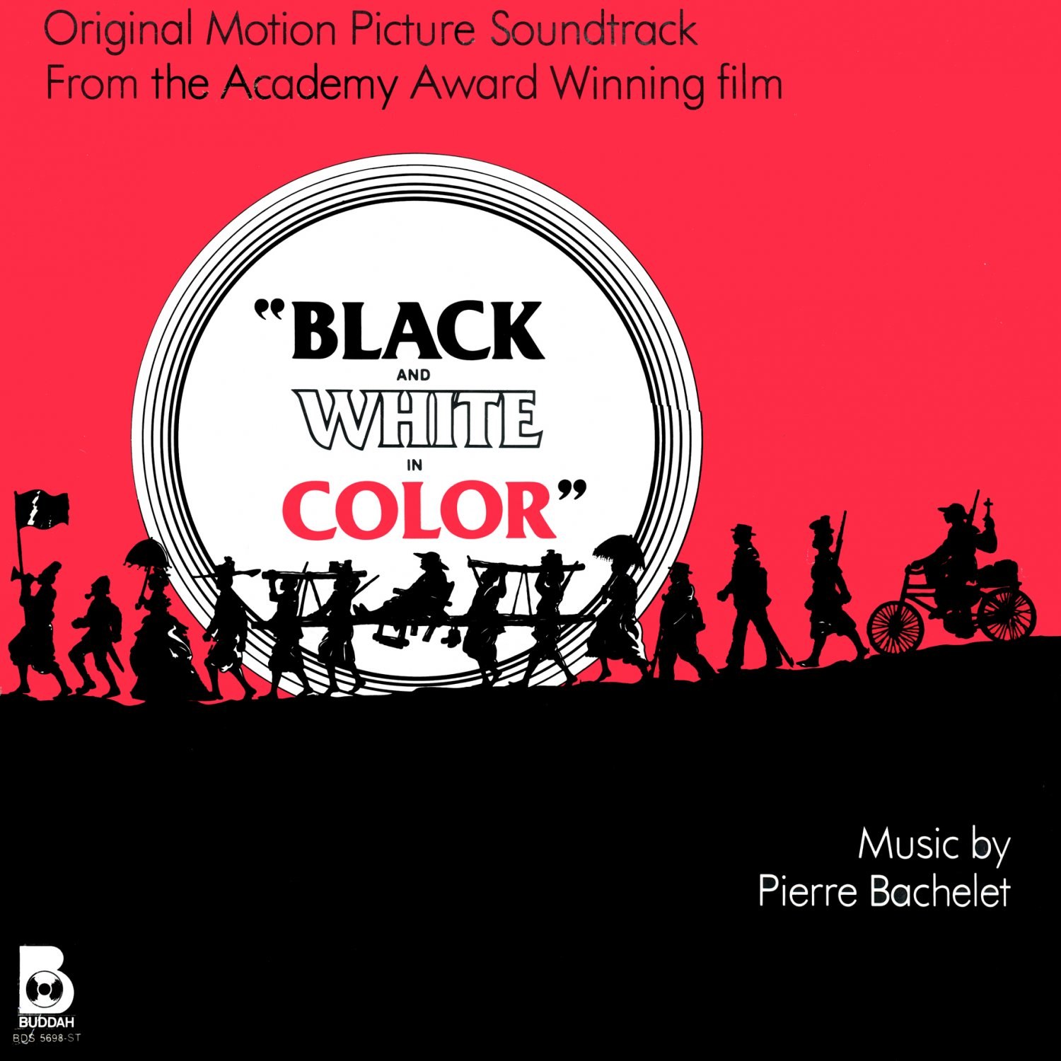 Black And White In Color - Original Soundtrack, Pierre Bachelet OST LP/CD