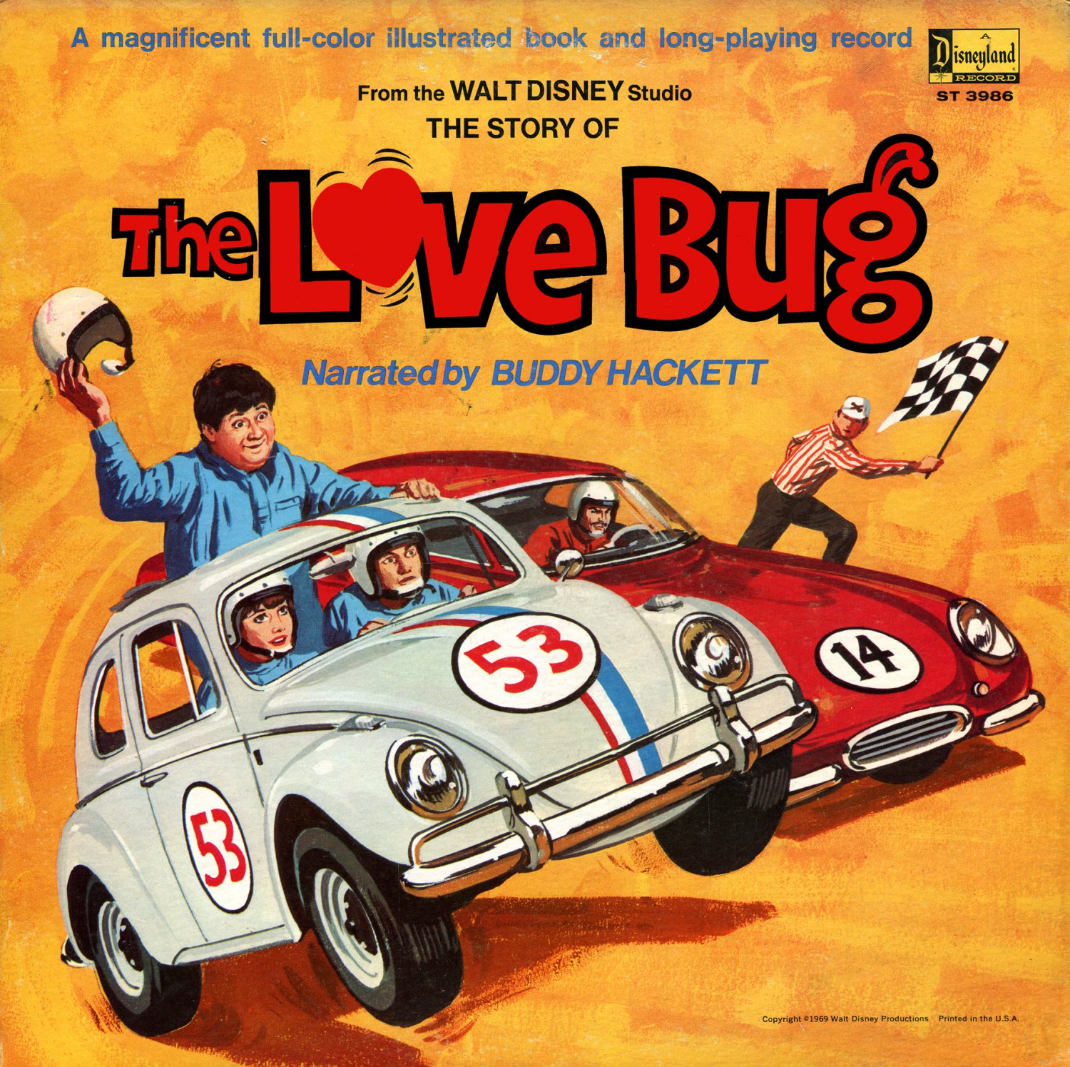 The Love Bug (1969) - Walt Disney Story Soundtrack LP/CD