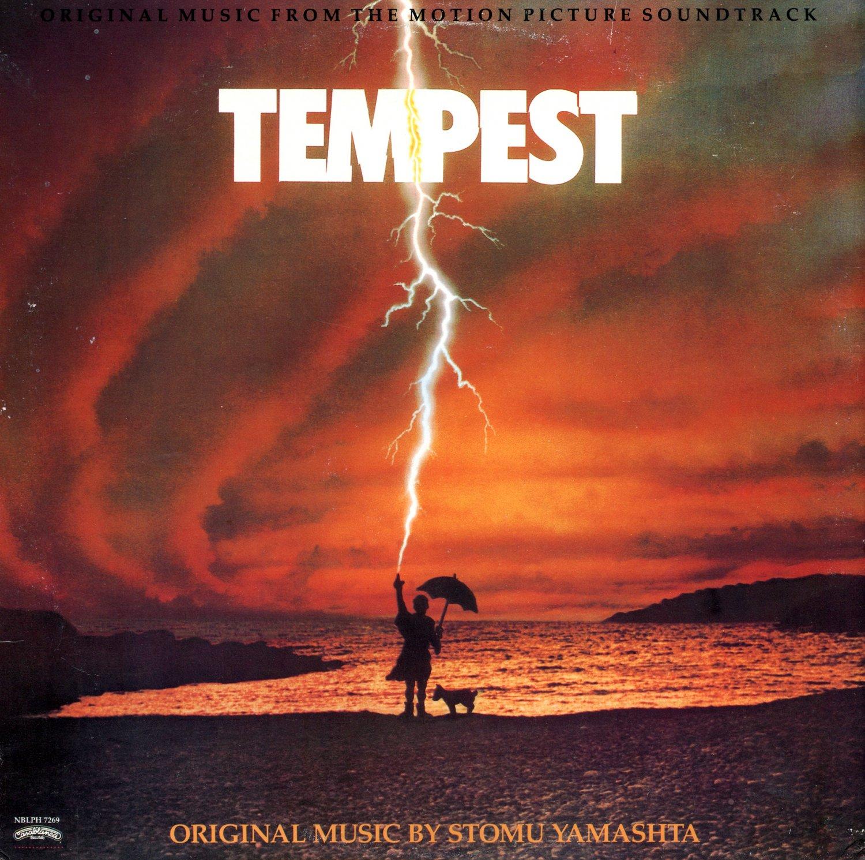 Tempest (1982) - Original Soundtrack, Stomu Yamashta OST LP/CD
