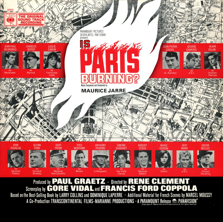 Is Paris Burning? - Original Soundtrack, Maurice Jarre OST LP/CD
