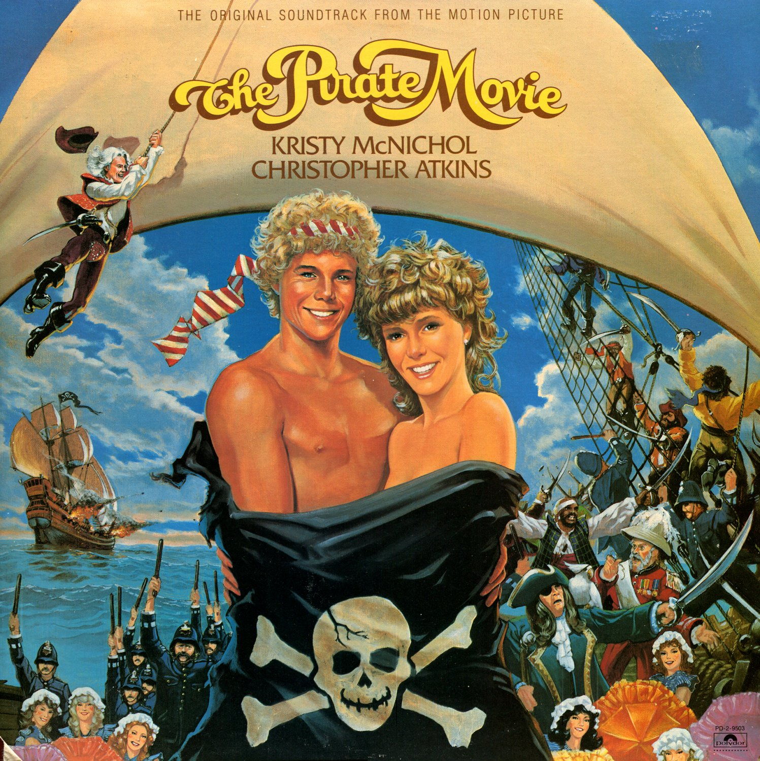 The Pirate Movie - Original Soundtrack, Kristy McNichol & Christopher Atkins OST LP/CD
