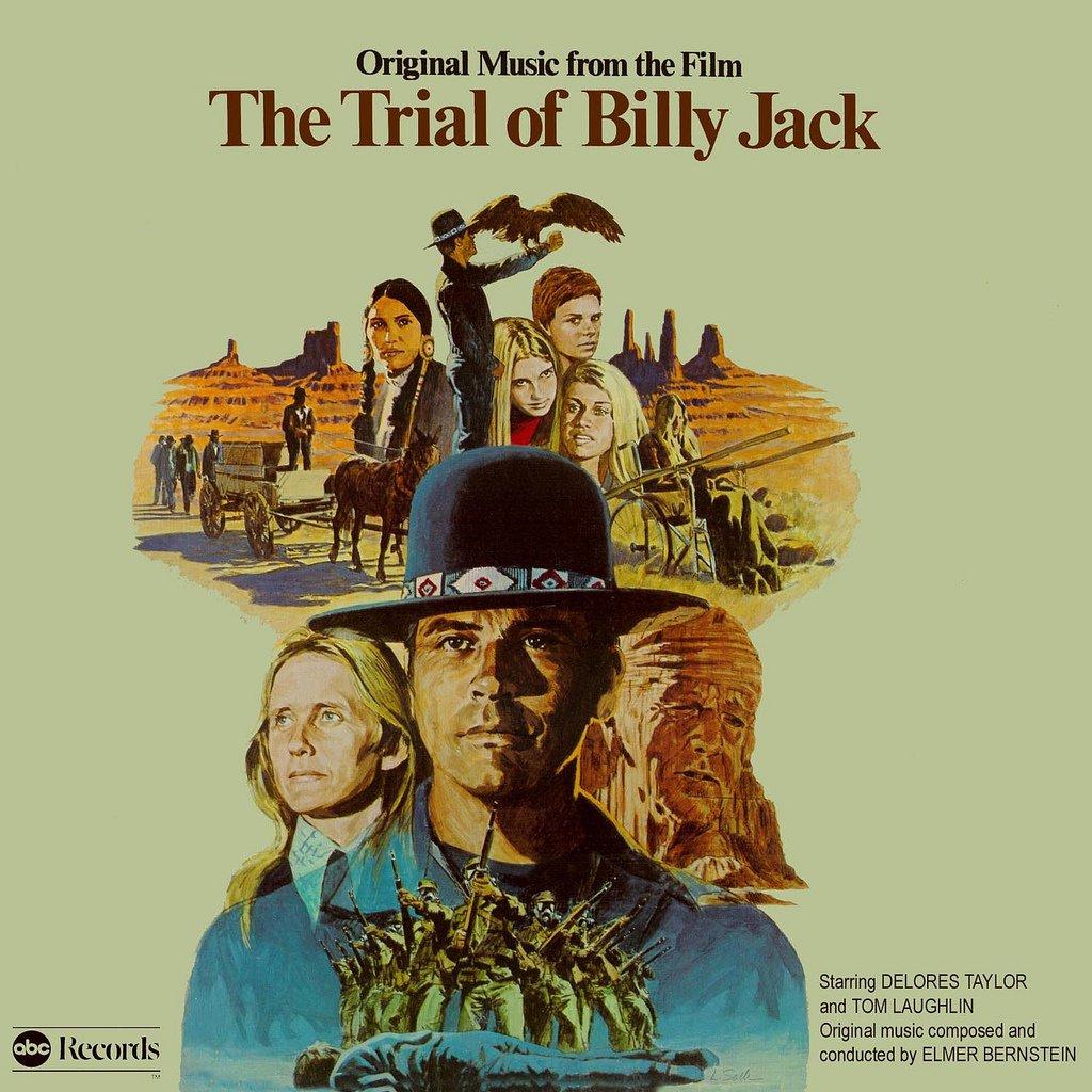 The Trial Of Billy Jack - Original Soundtrack, Elmer Bernstein OST LP/CD