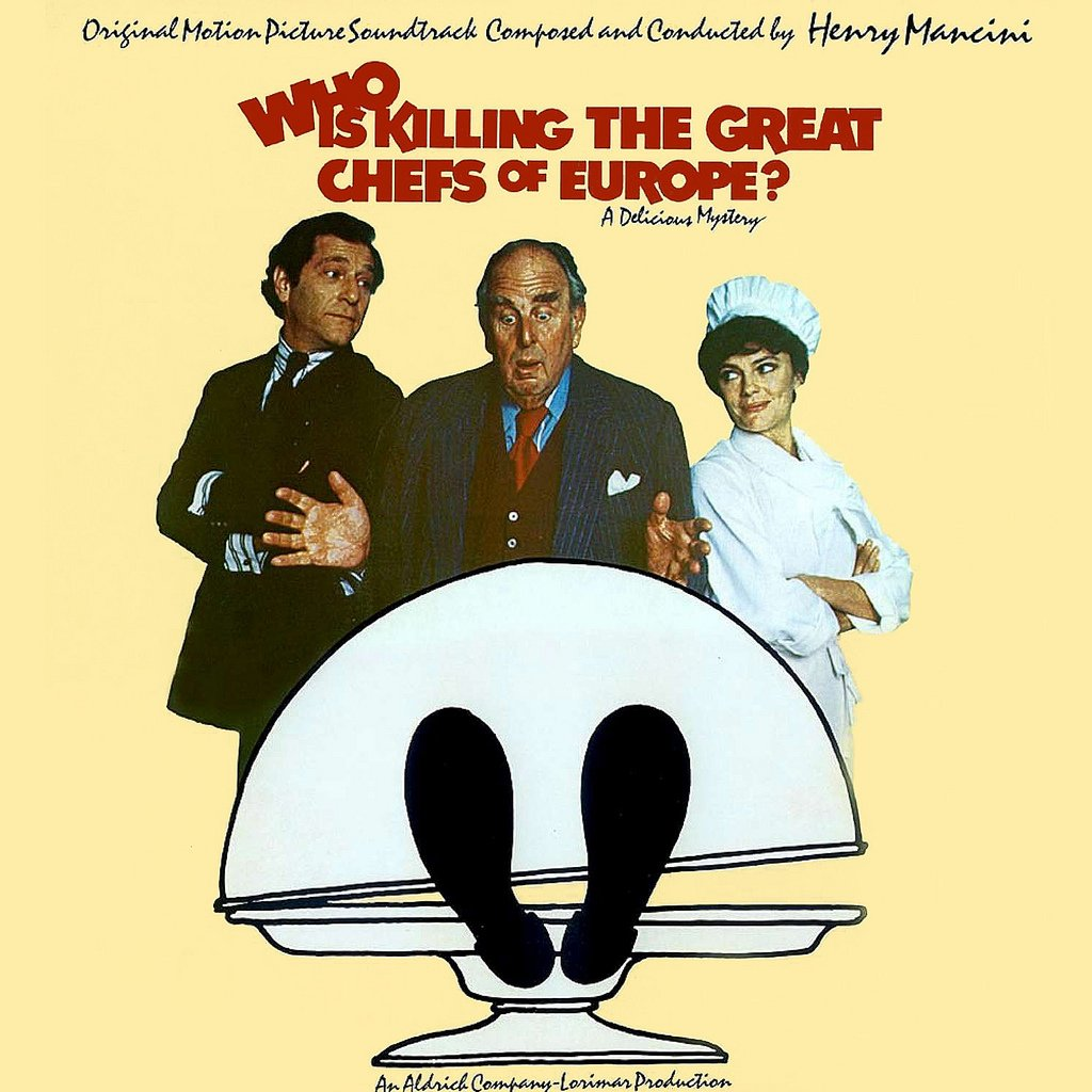Who Is Killing The Great Chefs Of Europe? - Original Soundtrack, Henry Mancini OST LP/CD
