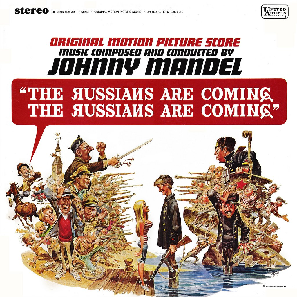 The Russians Are Coming - Original Soundtrack, Johnny Mandel OST LP/CD