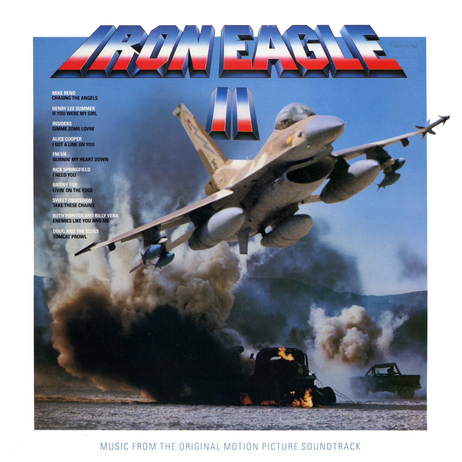 Iron Eagle II / 2 - Original Soundtrack, Mike Reno OST LP/CD