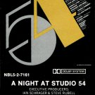 A Night At Studio 54 (1979) - Disco Music Collection Tape/CD