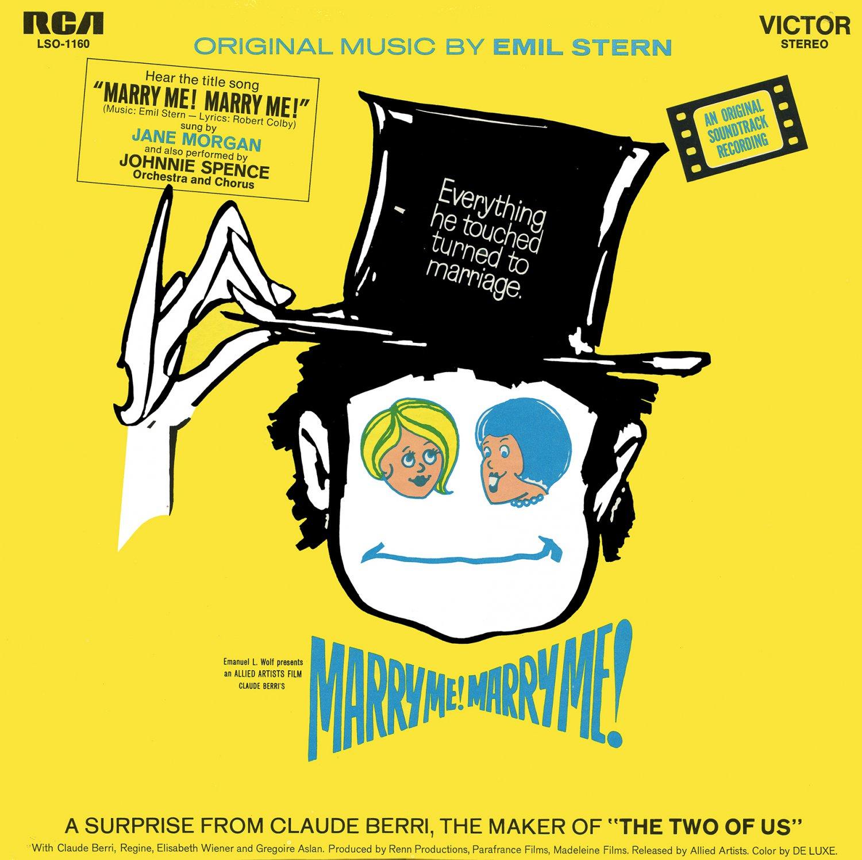 Marry Me! Marry Me! / Mazel Tov ou le mariage - Original Soundtrack, Emil Stern OST LP/CD