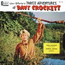 Walt Disney's Three Adventures Of Davy Crockett - Story Soundtrack, Fess Parker LP/CD