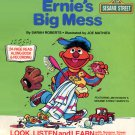 Ernie's Big Mess - Sesame Street Look-Listen-Learn Book & Record EP/CD