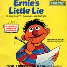 Ernie's Little Lie - Sesame Street Look-Listen-Learn Book & Record EP/CD