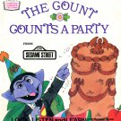 The Count Counts A Party - Sesame Street Look-Listen-Learn Book & Record EP/CD
