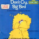Don't Cry, Big Bird - Sesame Street Look-Listen-Learn Book & Record EP/CD