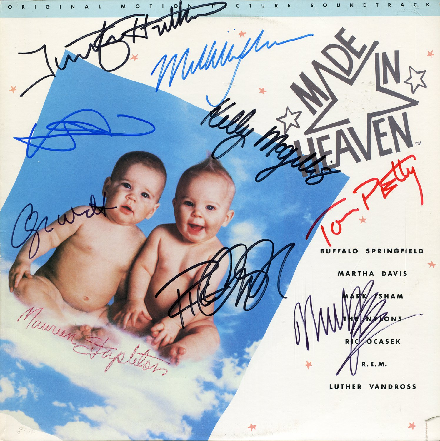 Made In Heaven - Original Soundtrack, Autographed by Cast & Musicians LP/CD