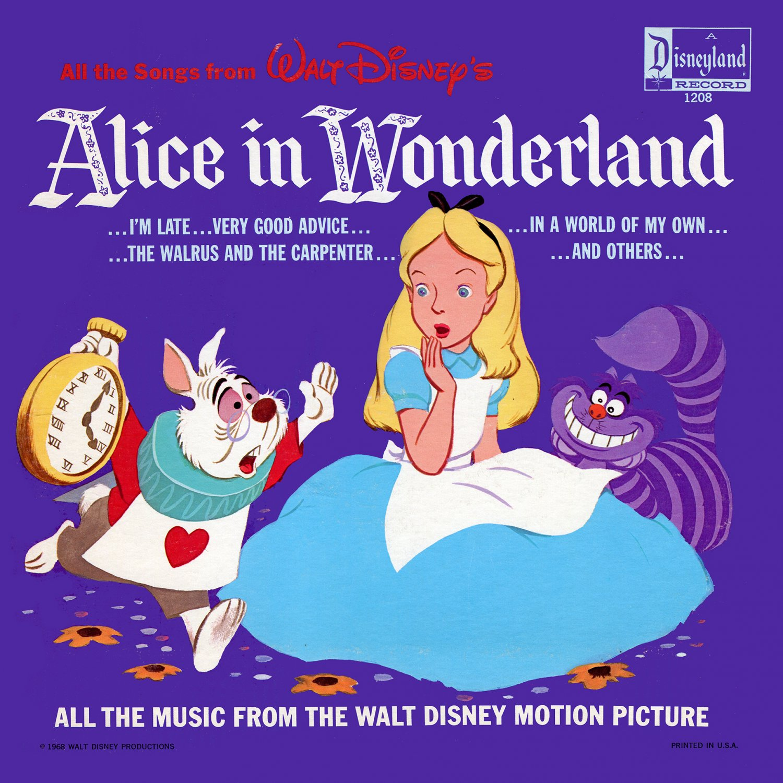 Walt Disney's Alice In Wonderland - All The Songs Soundtrack, Darlene Gillespie LP/CD