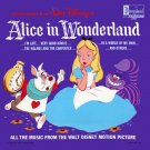 Walt Disney's Alice In Wonderland - All The Songs Soundtrack, Darlene Gillespie LP/CD