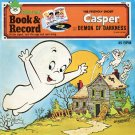 Casper The Friendly Ghost and the Demon Of Darkness - Peter Pan Book & Record EP/CD