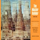 The Master Builder - National Theatre Of Great Britain Cast Soundtrack, Michael Redgrave LP/CD