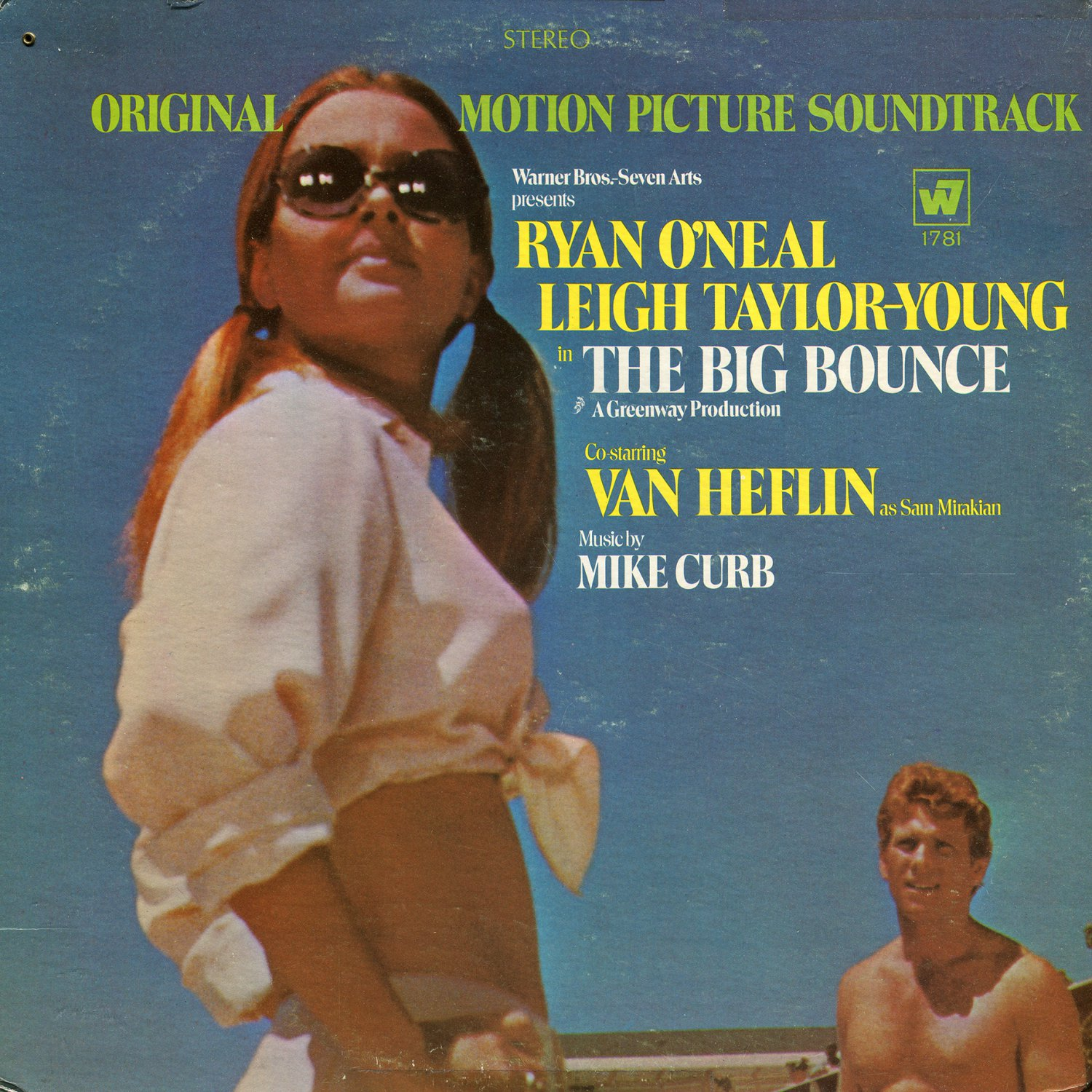 The Big Bounce (1969) - Original Soundtrack, Mike Curb OST LP/CD
