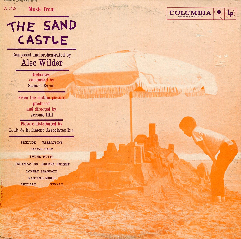 The Sand Castle (1961) - Original Soundtrack, Alec Wilder OST LP/CD