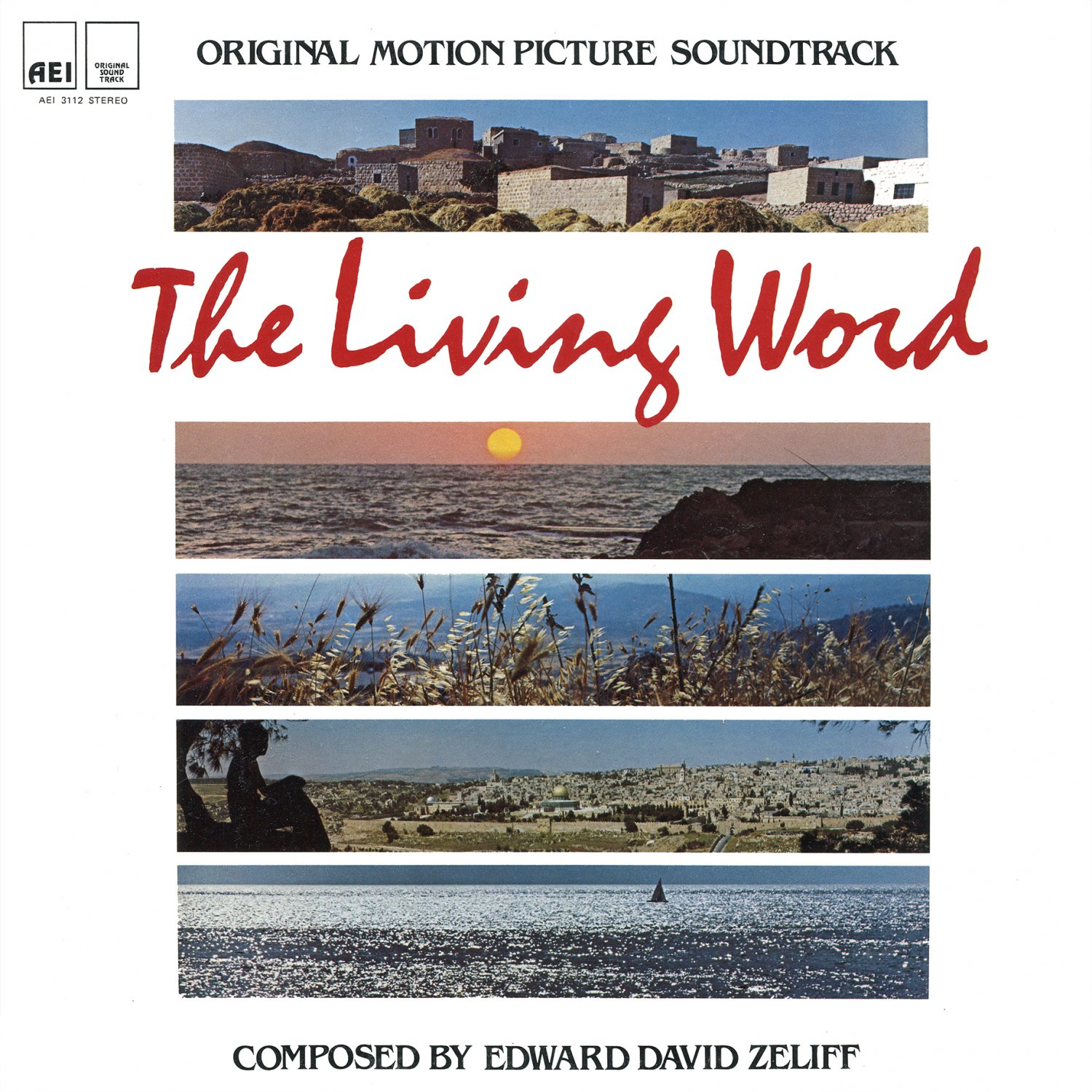 The Living Word (1982) - Original Soundtrack, Edward David Zeliff OST LP/CD
